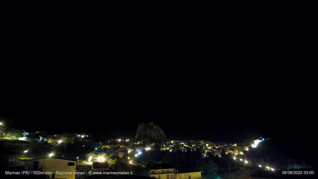 Webcam a Marineo (PA)